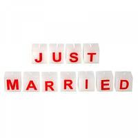 Набор свечей для молодоженов Just married Код:104140