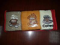 """Набор полотенец """"кофе"""", фото 1"""