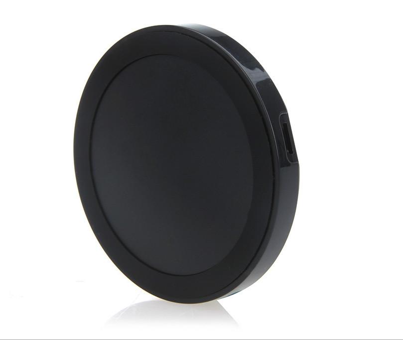 Бездротове зарядний QI кругле для смартфонів чорне SKU0000036