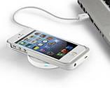 Бездротове зарядний QI кругле для смартфонів чорне SKU0000036, фото 6