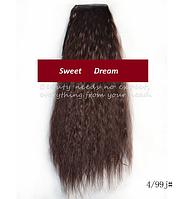 Шиньон, конский хвост, кудрявый, афро-кудряшки, длина - 60 см, цвет 4\99