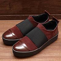 7033.2  (36; 38; 39; 40) Женские туфли-полуботинки летние