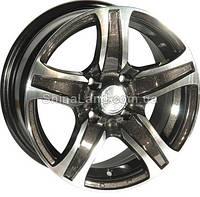 Литые диски Zorat Wheels ZW-337 BE-P 6.5x15/4x100 D67.1 ET35 (Dark Gun Gray Polish)