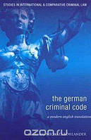 Michael Bohlander The German Criminal Code