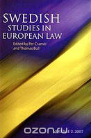 Swedish Studies in European Law - Volume 2, 2007