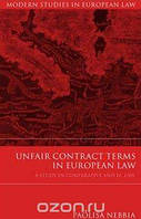 Paolisa Nebbia Unfair Contract Terms in European Law