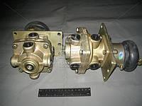 Кран тормозной 2-секционный (производство ПААЗ) (арт. 100.3514008-30), AGHZX