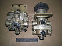 Кран тормозной 2-секц. под глушитель шума (Производство ПААЗ) 100.3514008-01, AGHZX
