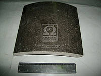 Накладка тормоз КАМАЗ ЕВРО (Производство Трибо) 6520-3501105, AAHZX