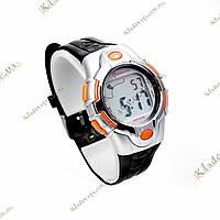 Водонепроницаемые (3 атм.) спортивные часы Mingrui orange, унисекс, фото 1