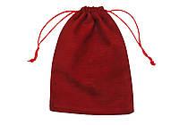 Мешочек бархатный для карт таро 12 х 17 см ( бардовый)