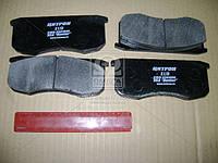 Колодка тормозная передняя УАЗ (2.1.13) (производство Цитрон) (арт. 3160-3501090), ABHZX