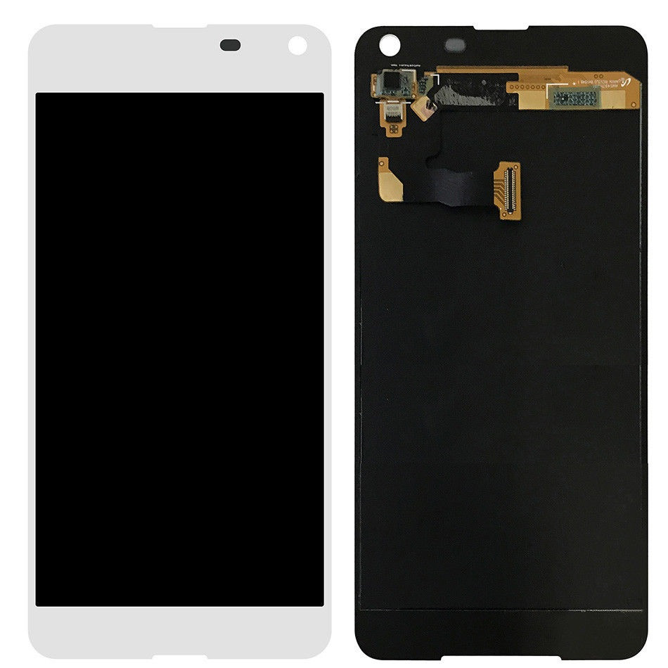 Дисплей (екран) для Microsoft (Nokia) 650 Lumia Dual Sim з сенсором (тачскріном) білий