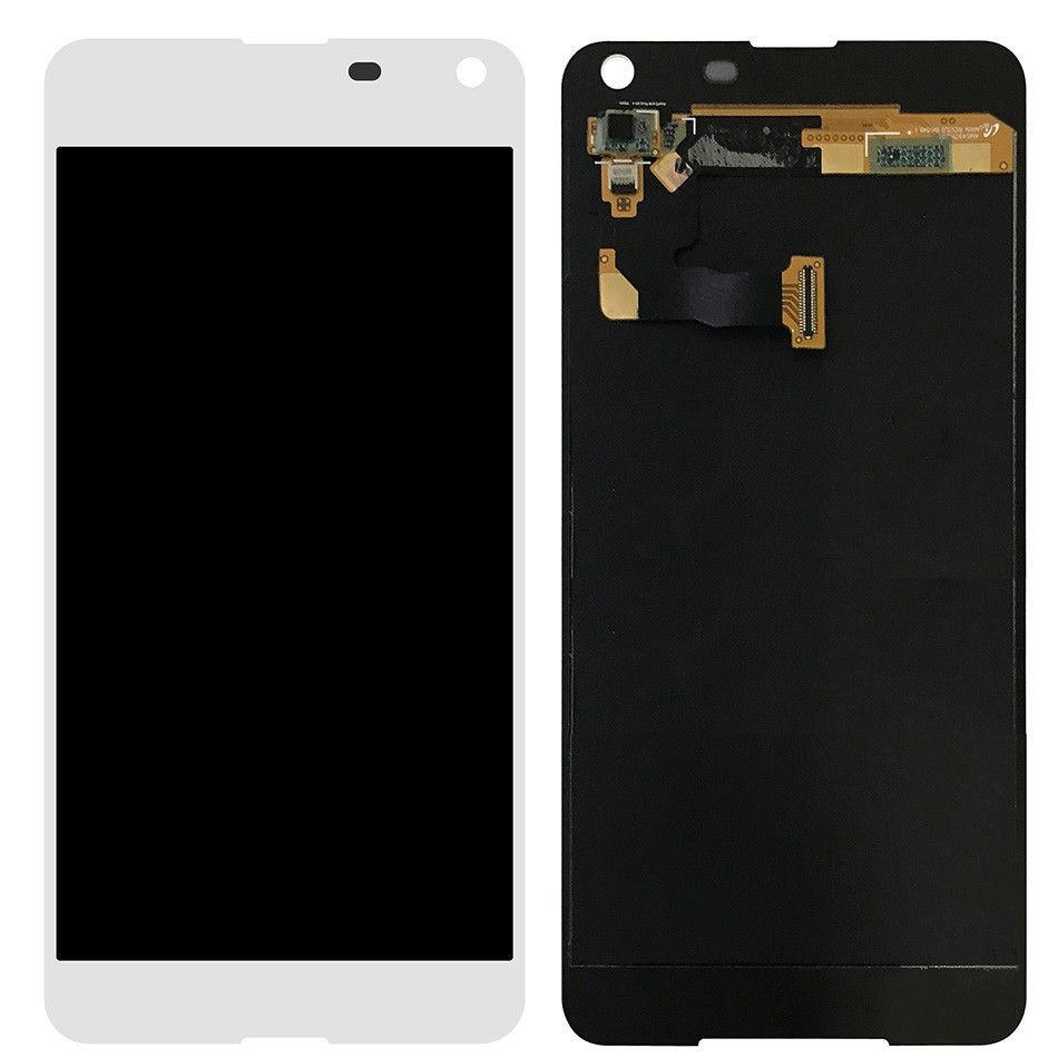 Дисплей (екран) для Microsoft (Nokia) 650 Lumia Dual Sim з сенсором (тачскріном) білий Оригінал