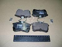 Колодка тормозной HONDA ACCORD задней (Производство TRW) GDB3190