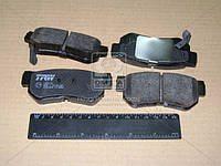 Колодка тормозной HYUNDAI ELANTRA, SANTA FE, TUCSON, KIA MAGENTIS задней (Производство TRW) GDB3284