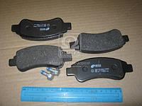 Колодка тормозная CITROEN C4, PEUGEOT PARTNER передн. (производство REMSA) (арт. 0840.30), ADHZX