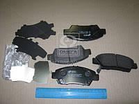 Колодка тормозная HONDA JAZZ III 1.2,1.4I,1.5I 08- передн. (производство REMSA), AEHZX