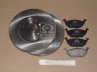 Комплект тормозной передний SEAT TOLEDO 99-;SKODA OCTAVIA 96-;Volkswagen BORA 99- (производство REMSA) (арт. 8633.04), AFHZX