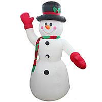 Надувная фигура Снеговик  120 см
