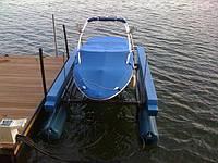 Лифт для яхты или катера HydroHoist Side-Tie