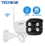 Wi-Fi IP Камера 720 P HD Поддержка Micro SD карты Водонепроницаемая видеонаблюдения Беспроводная, микрофон