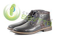 Зимние ботинки на шнуровке