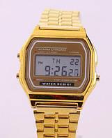 Часы мужские Casio Classic retro gold