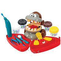 Детский игровой набор с пластилином «Дантист» Playgo