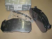 Колодка тормозная дисковая (комплект на ось) MAN 2000,TGA, MB, KASSBOHRER, RVI MAGNUM,PREMIUM (RIDER), AGHZX