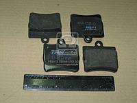 Колодка тормозная MB C-CLASS задн. (производство TRW) (арт. GDB1283), ADHZX