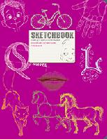 Sketchbook. Візуальний експрес-курс рисування (малиновый)