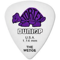 Медиатор Dunlop 424R1.14 Tortex Wedge 1.14 mm