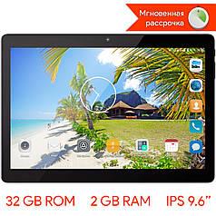 "➤Планшет 9.6"" LENOVO Tab 10 SN9633, 2/32 GB Черный IPS экран 8 ядер MTK6580 GPS 3G навигатор Android 6.0 2 SIM"