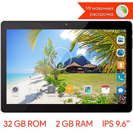 "➤Планшет 9.6"" LENOVO Tab 10 SN9633, 2/32 GB Черный IPS экран 8 ядер MTK6580 GPS 3G навигатор Android 6.0 2 SIM, фото 2"
