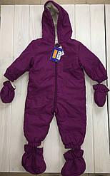 Дитячий комбінезон LupiLu фіолетовий (F1_01) - 50-56