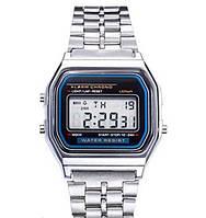 Часы мужские Casio Classic retro silver