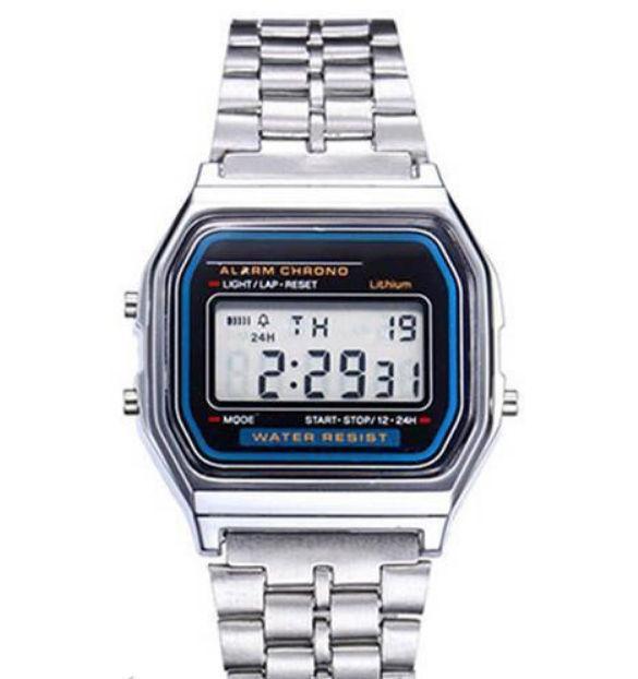 fd290dda Часы мужские Casio Classic retro silver - Интернет-магазин