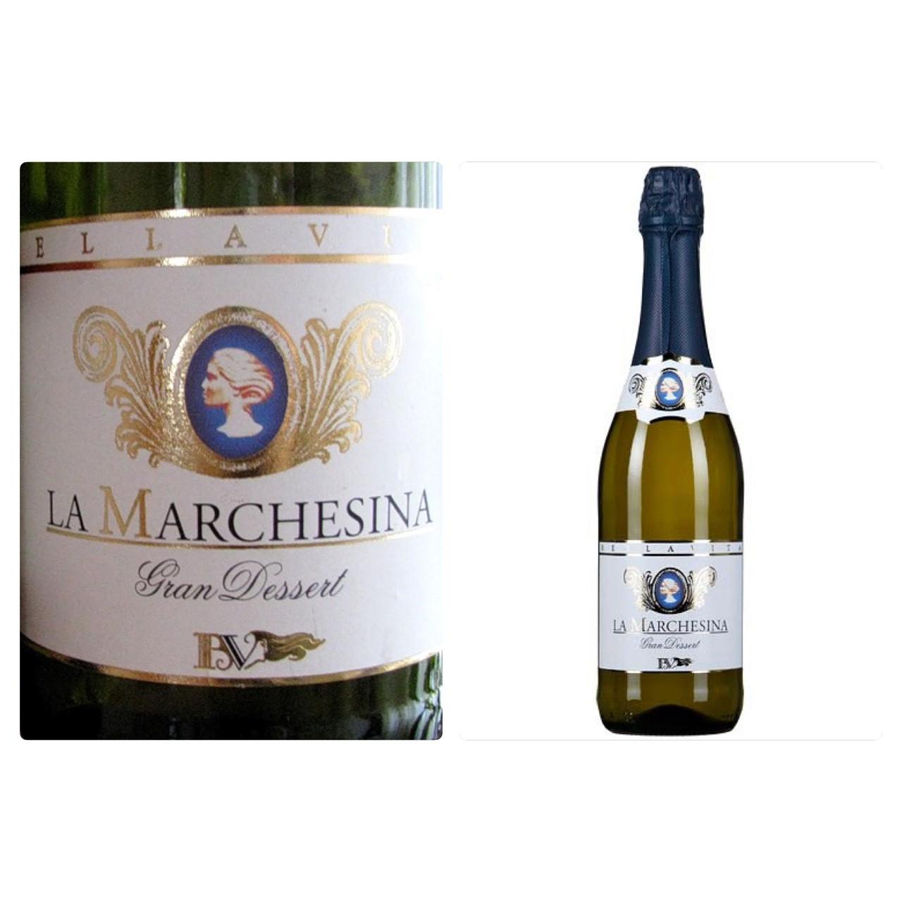 Шампанское La Marchesina Gran Dessert (Ля Маркезина Гран Десерт) 0,75 L. - Гурман Маркет в Одессе