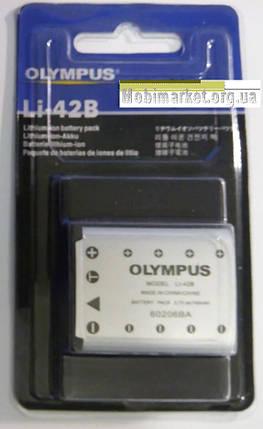 Акумуляторна батарея OLYMPUS LI-42B 740mAh, фото 2