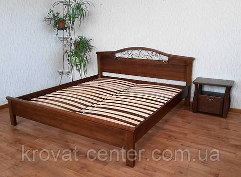 """Кровать двуспальная из натурального дерева """"Фантазия - 2"""" от производителя, фото 2"""