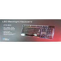 Клавиатура zyg-800, подключения-USB + PS/2