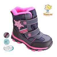 Зимние термоботинки для девочки Tom.m, размер 29