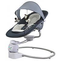 Детское кресло-качалка Baby Mix BY002 dark grey
