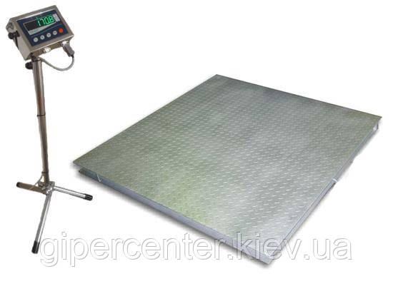 Весы платформенные Техноваги ТВ4-300-0,1-(1000х1000)-12eh до 300 кг, фото 2