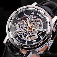 Мужские механические часы Winner Black