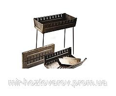 Мангал-чемодан на 6 шампуров складной-2мм