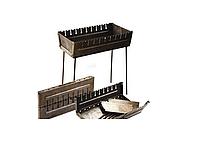 Мангал-чемодан на 8 шампуров складной-2мм
