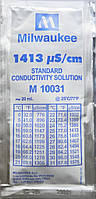 Калибровочный раствор 1413 µS/cm (мкСм) для кондуктометров (EC метр) MILWAUKEE 20мл