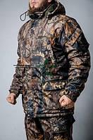 Бушлат, куртка зимова камуфляжний ліс, фото 1